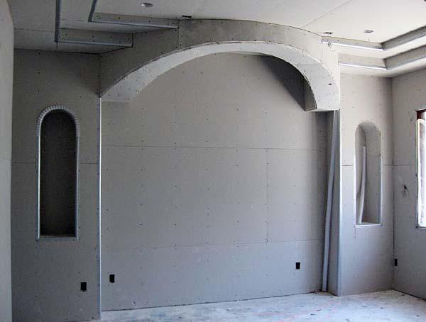 стены из гкл